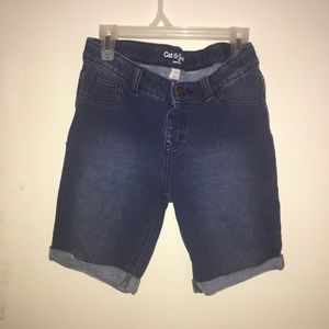 Girls, 10-12 Cat & Jack, Bermuda shorts.